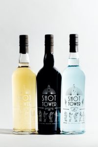 Shot Tower Gin: American Dry, Barrel Aged, and Skeleton Spirit